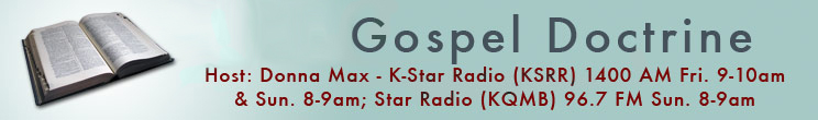 LDS Gospel Doctrine Recordings from Radio Host Donna Max